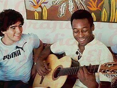 Diego y Pelé