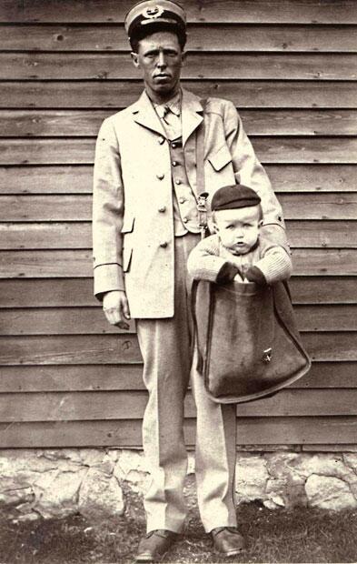 Las Cigüeñas de correos